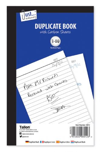 Duplicate Book - Full Size80 sets